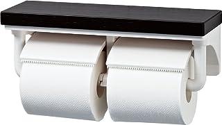 LIXIL(骊住) INAX 带搁板2连卷纸器 Crie Dark CF-AA64KU/LD