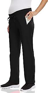 V VOCNI 孕妇运动裤慢跑棉跑步裤休闲宽松抽绳腰部带拉链口袋