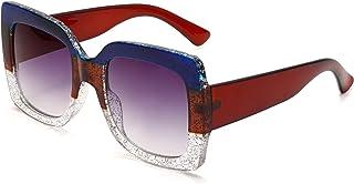 超大钻石太阳镜女式奢华时尚方形复古超大太阳镜独特水钻眼镜墨镜