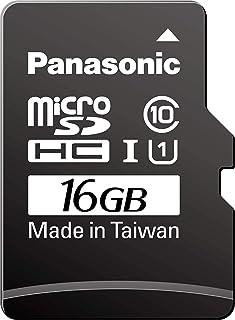 Panasonic 松下电器 产业用/业务用 高耐久microSD卡 3D TLC 16GB TC系列 RPTMTC16SWA