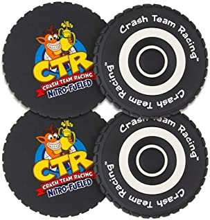 Crash Team Racing 轮胎杯垫(4 件装)