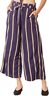 Volcom 女式 Winding Roads 套穿露脐沙滩裤