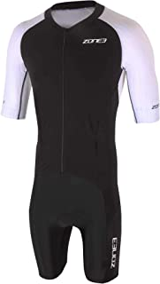 ZONE3 男式熔岩长距离全拉链短袖 Aero 西装