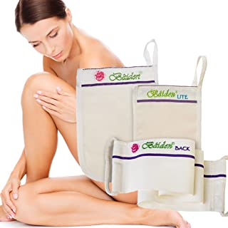 Baiden 去角质系统 - *佳紧致面部和背部磨砂膏 - 去除黑头、干性皮肤、皱纹、蜂脂、控制* - 面部*霜 *循环和胶原蛋白 Baiden System Pack