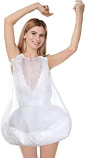 厕所衬裙新娘婚纱礼服衬裙婚纱礼服下裙涤纶抽绳弹性厕所衬裙适用于婚礼派对