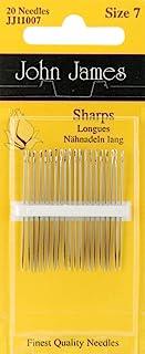 Sharps Hand Needles-Size 7 20/Pkg