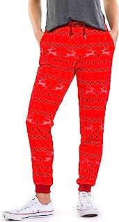 Tipsy Elves 女式可爱圣诞慢跑裤 - 女性节日圣诞节睡裤