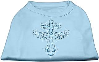 Mirage Pet Products 勇士十字钉宠物衬衫,XXL 码,淡蓝色