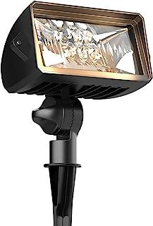 GOODSMANN 照明 LED 壁灯 泛光景观照明 18W 1000 流明压铸铝户外灯 防风雨 2700K 暖灯 低电压灯 9920-4675-01