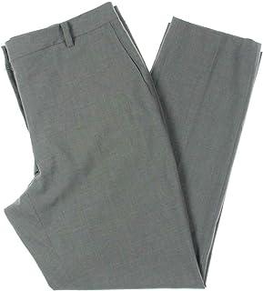 DKNY 女式灰色紧身工作服长裤尺码 16