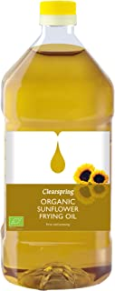 Clearspring Organic Sunflower Frying Oil 2 Litre