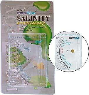 Abnaok 盐度测试仪,鱼缸池塘水海水淡水海水新鲜水的海洋*重力测试仪,精确自动水表
