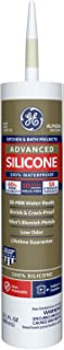 Momentive Performance Materials GE5060 10.1-Ounce Silicone II Premium Waterproof Kitchen and Bath Silicone Cartridge, Almond