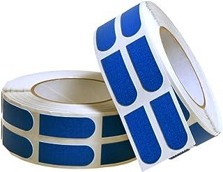 Turbo 保龄球握把带胶带 500 件电动 3/4 英寸,蓝色
