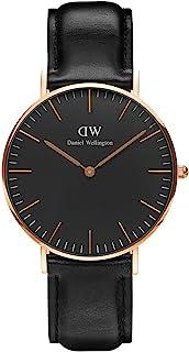 Daniel Wellington 丹尼尔·惠灵顿 男士 皮革表带手表