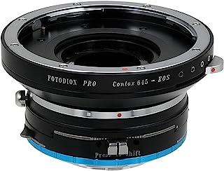 Fotodiox Pro 镜头安装换档适配器 Contax 645 (C645) 安装镜头到 Fujifilm X 系列无反相机适配器 - 适合 X-Pro1、X-E1、X-M1、X-A1、X-E2、X-T1