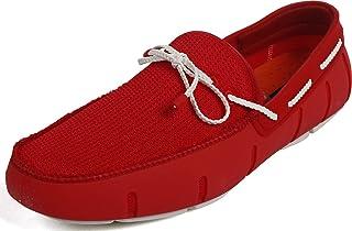 SWIMS 男 系带平跟船鞋 2120230