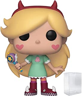 Disney:星对战 The Forces of Evil - Star Butterfly Funko POP! 乙烯树脂人形玩具(包括兼容的 Pop Box 保护套)