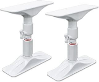 平安伸铜工业 家具防摔抽屉杆 白色 取付高さ22~27cm REQ-22