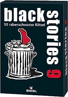 Moses Black Sties 9 英寸高的 50 张黑色拼图,谋杀神秘而兴奋的卡片游戏