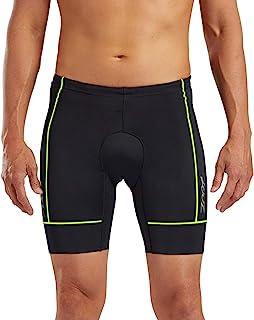 Zoot Core 男士 7 英寸三条短裤 - 高性能铁人三项短裤耐力面料臀部皮套口袋