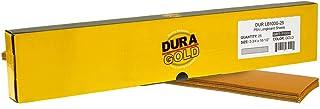 Dura-Gold - 高级 - 1000 粒黄金 - 预切长板纸 2-3/4 英寸(约 6.9 厘米)宽,16-1/2 英寸(约 41.9 厘米)长 - PSA 自粘粘性长板砂纸 - 一盒 20 张砂纸整理纸