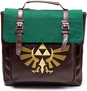 Bioworld 任天堂皇室徽章背包休闲背包,42厘米,25升,棕色