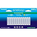 Panasonic 松下电器 BK-4MCCA12FA eneloop AAA 2100循环镍氢预充电充电电池,(包装包…
