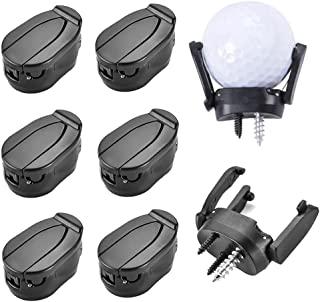 Vanknono 6 件套高尔夫球拾取器抓取器,可折叠高尔夫球拾取器吸杆