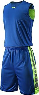 yingfeg bb 篮球双面针织衫和短裤运动背心带/男士运动短裤