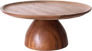 Chabatree 蛋糕架 木制 L 海蓝宝石 黑加仑 约直径28×高13厘米 烤盘 Aftenden茶 派对 CU-030