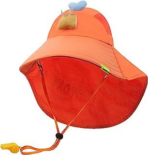 Duoyeree 儿童渔夫帽夏季*大帽檐渔夫帽沙滩动物帽男孩女孩