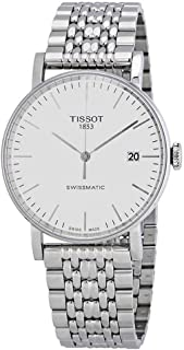 Tissot Everytime Swissmatic - T1094071103100T1094071103100 Analog 不锈钢 白色 T1094071103100 watches