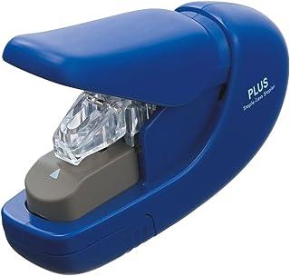 PLUS Japan 普乐士 无夹式订书机,装订容量5张,1件装,蓝色