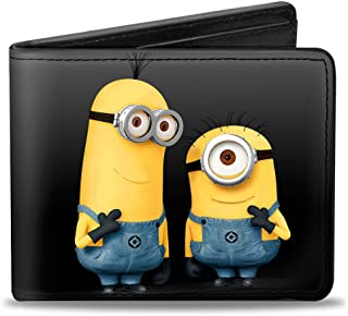 Buckle-Down Wallet Minions Tim & Carl Standing Pose Accessory 多色 One Size