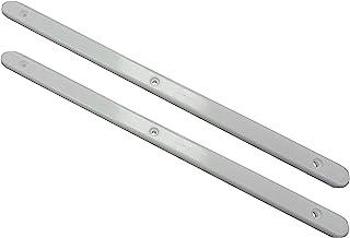 Merriway® BH07113,白色抽屉滑轨 310 毫米(12.5 英寸)x 16 毫米 x 6 毫米,塑料,10 个装