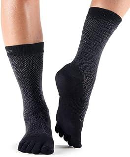 toesox 休闲圆领脚趾袜适用于时尚日常穿着与靴,运动鞋,和牛津鞋