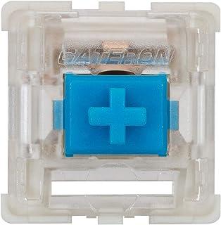 Gateron ks-9 机械按键开关,适用于机械游戏键盘 | 板装(盖特朗蓝,90 件)