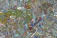 Yanoman 500片 拼图 城市 玉米 大片 (50x75厘米)
