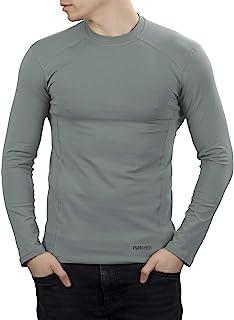 281Z 男士*弹力棉长袖 T 恤 - 战术徒步户外汗衫 - 惩罚者战斗线