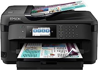 Epson 爱普生 WorkForce WF-7710DWF Wi-Fi打印机 适用于家庭办公,黑色