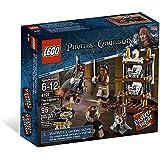 LEGO 海盗加勒比船长座舱 95 件 (S) 建筑套装 - 游戏(多种颜色,6 年 (S),95 件 (S),电影,1…