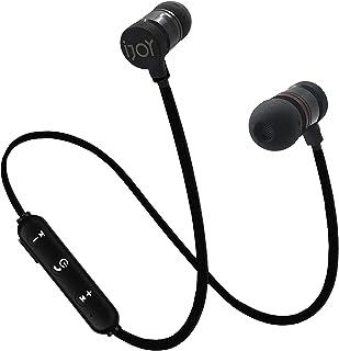 IJOY 蓝牙无线运动耳塞 IPX4 防汗运动耳机 带麦克风 降噪耳机 降噪耳机 适用于锻炼、跑步、健身房