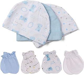 Kiddiezoom 4 条装新生儿裤子婴儿和幼儿中性棉质裤子