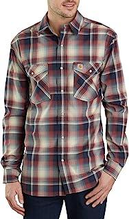 Carhartt 男式 Rugged Flex Bozeman 长袖衬衫