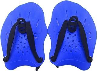 QWLWBU 游泳桨游泳手蹼用于游泳训练,游泳训练桨带可调节肩带,适合女士和男士游泳训练手蹼