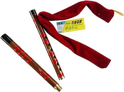 Season 思雅晨 民族吹奏乐噐 双节笛子 初学竹笛套装S-FA16(配教材+笛膜+笛膜胶+笛膜保护器)