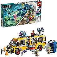 LEGO 乐高 隐藏侧超自然拦截巴士,3000 70423增强现实[AR]带有玩具巴士的构建套件,Toy App可通过Ghost玩具和车辆进行无尽的创意游戏(689件)