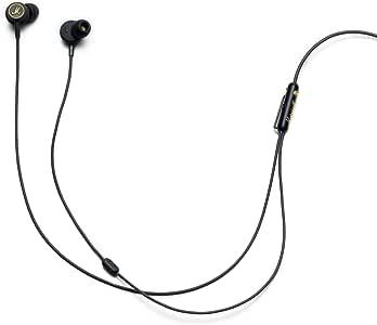 Marshall 马歇尔 Mode EQ 入耳式耳机-黑色/黄铜