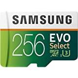 SAMSUNG 三星 EVO Select 256GB MicroSDXC UHS-I U3 100MB / s 全高清…